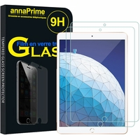 "Apple iPad Pro 10.5 (2017) 10.5"" A1701 A1709 A1852 (non compatible iPad Pro 12.9 (2017)): Lot / Pack de 2 Films de protection d'écran Verre Trempé"