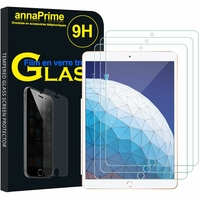 "Apple iPad Pro 10.5 (2017) 10.5"" A1701 A1709 A1852 (non compatible iPad Pro 12.9 (2017)): Lot / Pack de 3 Films de protection d'écran Verre Trempé"