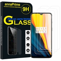 "OnePlus 7 6.41"" GM1901 (non compatible OnePlus 7 Pro 6.67"") [Les Dimensions EXACTES du telephone: 157.7 x 74.8 x 8.2 mm]: Lot / Pack de 3 Films de protection d'écran Verre Trempé"