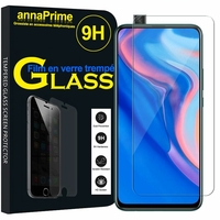 """Huawei Y9 Prime (2019) 6.59"""" STK-L21/ STK-L22/ STK-LX3 (non compatible Huawei Y9 (2018) 5.93""""/ Y9 (2019) 6.5"""") [Les Dimensions EXACTES du telephone: 163.5 x 77.3 x 8.8 mm]: 1 Film de protection d'écran Verre Trempé"""
