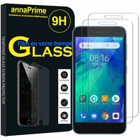 "Xiaomi Redmi Go 5.0"" [Les Dimensions EXACTES du telephone: 140.4 x 70.1 x 8.4 mm]: Lot / Pack de 2 Films de protection d'écran Verre Trempé"