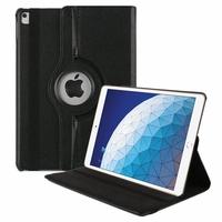 """Apple iPad Air (2019) 10.5""""/ iPad Air 3/ iPad Air (3rd generation) A2153 A2123 A2154 A2152 (non compatible iPad Air (2013)/ iPad Air 2 (2014) 9.7""""): Accessoire Etui Housse Coque avec support Et Rotative Rotation 360° en cuir PU - NOIR"""