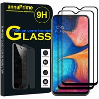"Samsung Galaxy A20E/ A20e Dual SIM 5.8"" SM-A202F/ SM-A202F/DS (non compatible Galaxy A20 6.4""): Lot / Pack de 2 Films de protection d'écran Verre Trempé"