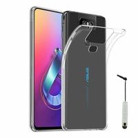 """Asus Zenfone 6 ZS630KL 6.4""""/ Zenfone 6z/ Zenfone 6 2019/ ASUS_I01WD: Accessoire Housse Etui Coque gel UltraSlim et Ajustement parfait + mini Stylet - TRANSPARENT"""