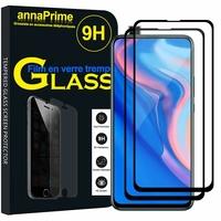 """Huawei Y9 Prime (2019) 6.59"""" STK-L21/ STK-L22/ STK-LX3 (non compatible Huawei Y9 (2018) 5.93""""/ Y9 (2019) 6.5"""") [Les Dimensions EXACTES du telephone: 163.5 x 77.3 x 8.8 mm]: Lot / Pack de 2 Films de protection d'écran Verre Trempé"""