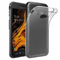 """Samsung Galaxy Xcover 4S SM-G398F SM-G398FN/DS 5.0"""" [Les Dimensions EXACTES du telephone: 146.2 x 73.3 x 9.7 mm]: Accessoire Housse Etui Coque gel UltraSlim et Ajustement parfait - TRANSPARENT"""