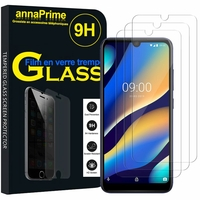 "Wiko View3 LITE/ View 3 Lite 6.09"" (non compatible Wiko View 3 6.26""/ View 3 PRO 6.3""): Lot / Pack de 3 Films de protection d'écran Verre Trempé"