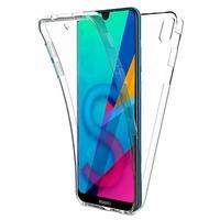 """Huawei Honor 8S 5.71"""" KSE-LX9 (non compatible Honor 8 5.2"""") [Les Dimensions EXACTES du telephone: 147.1 x 70.8 x 8.5 mm]: Coque Housse Silicone Gel TRANSPARENTE ultra mince 360° protection intégrale Avant et Arrière - TRANSPARENT"""
