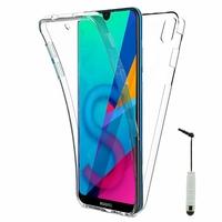 """Huawei Honor 8S 5.71"""" KSE-LX9 (non compatible Honor 8 5.2"""") [Les Dimensions EXACTES du telephone: 147.1 x 70.8 x 8.5 mm]: Coque Housse Silicone Gel TRANSPARENTE ultra mince 360° protection intégrale Avant et Arrière + mini Stylet - TRANSPARENT"""