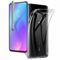 """Xiaomi Redmi K20/ Redmi K20 Pro/ Mi 9T/ Mi 9T Pro 6.39"""" M1903F10I/ M1903F10G/ M1903F11I (non compatible Xiaomi Mi 9 6.39""""/ Mi9 SE 5.97""""): Accessoire Housse Etui Coque gel UltraSlim et Ajustement parfait + Stylet - TRANSPARENT"""