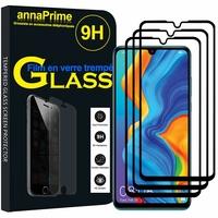 """Huawei P30 Lite 6.15"""" MAR-LX1M/ MAR-AL00/ MAR-TL00 (non compatible Huawei P30/ P30 Pro): Lot / Pack de 3 Films de protection d'écran Verre Trempé"""