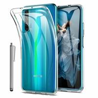 """Huawei Honor 20 Pro 6.26"""" YAL-AL10 YAL-TL10 (non compatible Huawei Honor 20 Lite 6.21""""/ Honor View 20 6.4""""): Accessoire Housse Etui Coque gel UltraSlim et Ajustement parfait + Stylet - TRANSPARENT"""