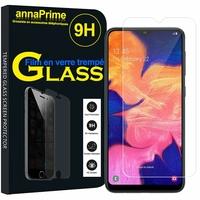 "Samsung Galaxy A10E 5.83"" SM-A102U (non compatible Galaxy A10 6.2""): 1 Film de protection d'écran Verre Trempé"