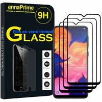 "Samsung Galaxy A10E 5.83"" SM-A102U (non compatible Galaxy A10 6.2""): Lot / Pack de 3 Films de protection d'écran Verre Trempé"