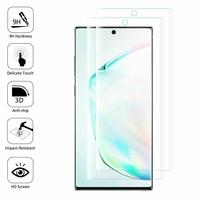 "Samsung Galaxy Note10/ Note 10 5G 6.3"" SM-N970F N970U N970U1 N9700 N970W N9700 N970N N971U N971N: Lot/ Pack de 2 Films en Verre Trempé Bord Incurvé Resistant"