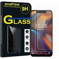 UMIDIGI A3/ A3 Pro [Les Dimensions EXACTES du telephone: 147.2 x 70.2 x 8.7 mm]: Lot / Pack de 2 Films de protection d'écran Verre Trempé