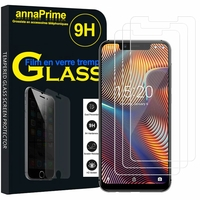 UMIDIGI A3/ A3 Pro [Les Dimensions EXACTES du telephone: 147.2 x 70.2 x 8.7 mm]: Lot / Pack de 3 Films de protection d'écran Verre Trempé