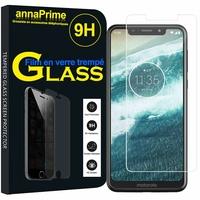 "Motorola One (P30 Play) 5.9"" [Les Dimensions EXACTES du telephone: 149.9 x 72.2 x 8 mm]: 1 Film de protection d'écran Verre Trempé"