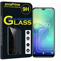 """OUKITEL C15 PRO+ Plus/ C15 PRO 6.09"""" [Les Dimensions EXACTES du telephone: 155.6 x 73.3 x 8.9 mm]: Lot / Pack de 2 Films de protection d'écran Verre Trempé"""