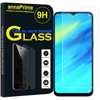 "Realme 2 Pro 6.3"" RMX1801 RMX1807 [Les Dimensions EXACTES du telephone: 156.7 x 74 x 8.5 mm]: 1 Film de protection d'écran Verre Trempé"