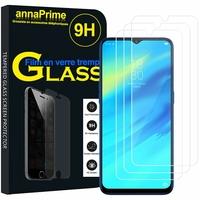 """Realme 2 Pro 6.3"""" RMX1801 RMX1807 [Les Dimensions EXACTES du telephone: 156.7 x 74 x 8.5 mm]: Lot / Pack de 3 Films de protection d'écran Verre Trempé"""
