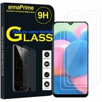 """Samsung Galaxy A30S 6.4"""" SM-A307F A307FN A307G A307GN A307GT A307YN [Les Dimensions EXACTES du telephone: 158.5 x 74.7 x 7.8 mm]: Lot / Pack de 3 Films de protection d'écran Verre Trempé"""