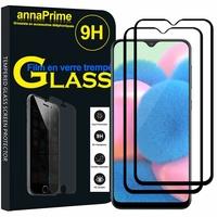 """Samsung Galaxy A30S 6.4"""" SM-A307F A307FN A307G A307GN A307GT A307YN [Les Dimensions EXACTES du telephone: 158.5 x 74.7 x 7.8 mm]: Lot / Pack de 2 Films de protection d'écran Verre Trempé"""