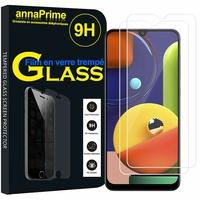 "Samsung Galaxy A50S 6.4"" SM-A507FN A507FN/DS [Les Dimensions EXACTES du telephone: 158.5 x 74.5 x 7.7 mm]: Lot / Pack de 2 Films de protection d'écran Verre Trempé"
