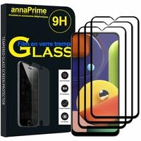 "Samsung Galaxy A50S 6.4"" SM-A507FN A507FN/DS [Les Dimensions EXACTES du telephone: 158.5 x 74.5 x 7.7 mm]: Lot / Pack de 3 Films de protection d'écran Verre Trempé"