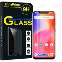 "Ulefone S10 PRO 5.7"" [Les Dimensions EXACTES du telephone: 149.20 x 72.20 x 9.65 mm]: Lot / Pack de 2 Films de protection d'écran Verre Trempé"