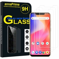 "Ulefone S10 PRO 5.7"" [Les Dimensions EXACTES du telephone: 149.20 x 72.20 x 9.65 mm]: Lot / Pack de 3 Films de protection d'écran Verre Trempé"