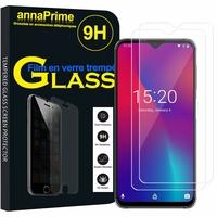 """UMIDIGI One Max 6.3"""" (non compatible UMIDIGI One/ One PRO 5.9"""") [Les Dimensions EXACTES du telephone: 156.80 x 75.60 x 8.35 mm]: Lot / Pack de 2 Films de protection d'écran Verre Trempé"""