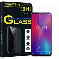 """UMIDIGI One Max 6.3"""" (non compatible UMIDIGI One/ One PRO 5.9"""") [Les Dimensions EXACTES du telephone: 156.80 x 75.60 x 8.35 mm]: Lot / Pack de 3 Films de protection d'écran Verre Trempé"""