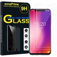 """UMIDIGI ONE/ ONE PRO 5.9"""" (non compatible UMIDIGI One Max 6.3"""") [Les Dimensions EXACTES du telephone: 148.4 x 71.4 x 8.3 mm]: Lot / Pack de 2 Films de protection d'écran Verre Trempé"""