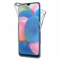 """Samsung Galaxy A30S 6.4"""" SM-A307F A307FN A307G A307GN A307GT A307YN [Les Dimensions EXACTES du telephone: 158.5 x 74.7 x 7.8 mm]: Coque Housse Silicone Gel TRANSPARENTE ultra mince 360° protection intégrale Avant et Arrière - TRANSPARENT"""
