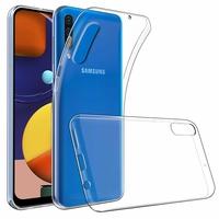 """Samsung Galaxy A50S 6.4"""" SM-A507FN A507FN/DS [Les Dimensions EXACTES du telephone: 158.5 x 74.5 x 7.7 mm]: Accessoire Housse Etui Coque gel UltraSlim et Ajustement parfait - TRANSPARENT"""