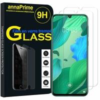 """Huawei Nova 5/ Nova 5 Pro 6.39"""" SEA-AL00 AL10 TL10 TL00 (non compatible Huawei Nova 5i 6.4""""/ Nova 5i Pro 6.26""""): Lot / Pack de 2 Films de protection d'écran Verre Trempé"""