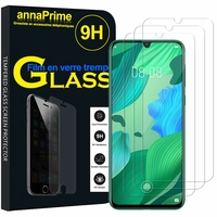 """Huawei Nova 5/ Nova 5 Pro 6.39"""" SEA-AL00 AL10 TL10 TL00 (non compatible Huawei Nova 5i 6.4""""/ Nova 5i Pro 6.26""""): Lot / Pack de 3 Films de protection d'écran Verre Trempé"""