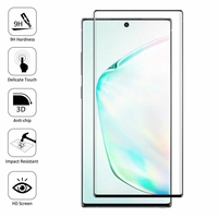 """Samsung Galaxy Note10+ Plus/ Note 10 Pro/ Note10+ 5G 6.8"""" SM-N975F N976F N975U N9750 N975U1 N975W N975N N976U N976: 1 Film en Verre Trempé Bord Incurvé Resistant"""
