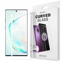 """Samsung Galaxy Note10+ Plus/ Note 10 Pro/ Note10+ 5G 6.8"""" SM-N975F N976F N975U N9750 N975U1 N975W N975N N976U N976: 1 Film de Protection d'écran en Verre trempé Nano incurve?e 3D avec Liquide et Lampe UV"""