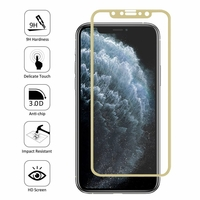 """Apple iPhone 11 Pro 5.8"""" A2215 A2160 A2217 (non compatible iPhone 11 6.1""""/ iPhone 11 Pro Max 6.5""""): 1 Film en Verre Trempé Bord Incurvé Resistant"""