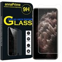 """Apple iPhone 11 Pro Max 6.5"""" A2218 A2161 A2220 (non compatible iPhone 11 6.1""""/ iPhone 11 Pro 5.8""""): 1 Film de protection d'écran Verre Trempé"""