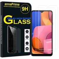 "Samsung Galaxy A20S 6.5"" SM-A207F A207FN A207GN A207YN (non compatible Galaxy A20 6.4""/ Galaxy A20E 5.8""): Lot / Pack de 2 Films de protection d'écran Verre Trempé"