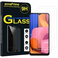 "Samsung Galaxy A20S 6.5"" SM-A207F A207FN A207GN A207YN (non compatible Galaxy A20 6.4""/ Galaxy A20E 5.8""): Lot / Pack de 3 Films de protection d'écran Verre Trempé"