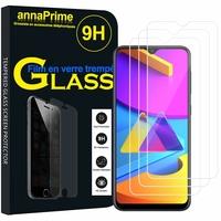 """Samsung Galaxy M10S 6.4"""" SM-M107F M107F/DS M107G M107Y M107M (non compatible Galaxy M10 6.22""""): Lot / Pack de 3 Films de protection d'écran Verre Trempé"""
