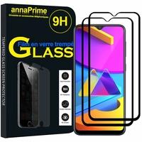 """Samsung Galaxy M10S 6.4"""" SM-M107F M107F/DS M107G M107Y M107M (non compatible Galaxy M10 6.22""""): Lot / Pack de 2 Films de protection d'écran Verre Trempé"""