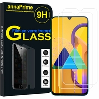 "Samsung Galaxy M30S 6.4"" SM-M307F/DS M307FN/DS (non compatible Galaxy M30): Lot / Pack de 2 Films de protection d'écran Verre Trempé"