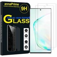 """Samsung Galaxy Note10+ Plus/ Note 10 Pro/ Note10+ 5G 6.8"""" SM-N975F N976F N975U N9750 N975U1 N975W N975N N976U N976: Lot / Pack de 2 Films de protection d'écran Verre Trempé"""