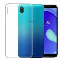 """Wiko Y80 5.99"""" [Les Dimensions EXACTES du telephone: 160 x 76.5 x 8.55 mm]: Accessoire Housse Etui Coque gel UltraSlim et Ajustement parfait - TRANSPARENT"""