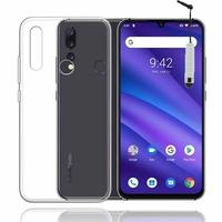 """UMIDIGI A5 PRO 6.3"""" [Les Dimensions EXACTES du telephone: 156 x 75.9 x 8.2 mm]: Accessoire Housse Etui Coque gel UltraSlim et Ajustement parfait + mini Stylet - TRANSPARENT"""